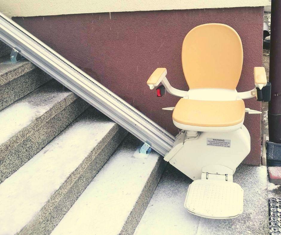 krzesełko schodowe dla seniora