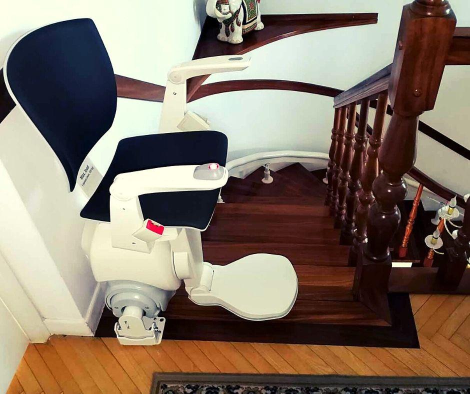 krzesło do transportu po schodach